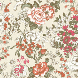 Ainsley Red Boho Floral 1014-001848