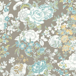 Ainsley Grey Boho Floral 1014-001849