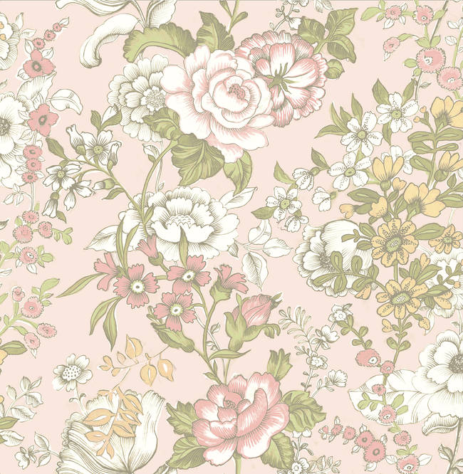 Ainsley Pink Boho Floral 1014-001850