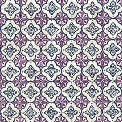 Geo Violet Quatrefoil 1014-001852