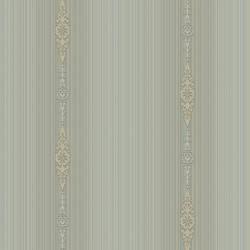 Devi Blue Embellished Stripe RW30102