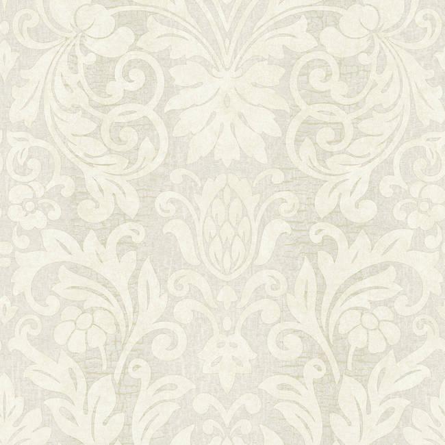 Nanda Grey Grand Damask RW30606