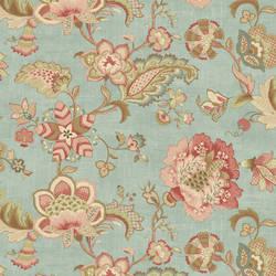Namaste Blue Jacobean Floral RW31102