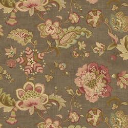 Namaste Brown Jacobean Floral RW31107