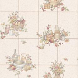 Pajer Beige Vintage Fruit Tile 347-11543