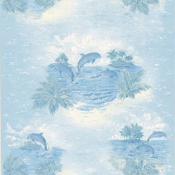 Alcott Blue Tropical Dolphin 347-12807