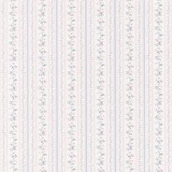 Ermes Blue Delicate Floral Pinstripe 347-14465