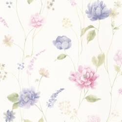 Hanne Blue Floral Pattern 347-20108