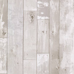 Heim White Distressed Wood Panel 347-20131