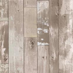 Heim Taupe Distressed Wood Panel 347-20132