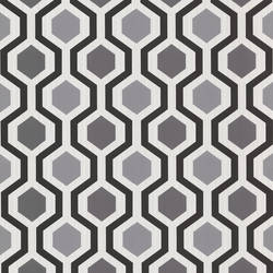 Marina Black Modern Geometric 347-20133