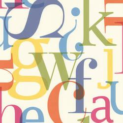 Angus Multicolor Vintage Letter Font 347-20139