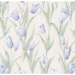 Denning Blue Satin Tulip Texture 347-20142
