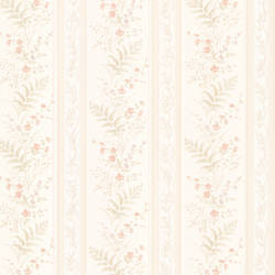 Bell Peach Wildflower Stripe 347-20144