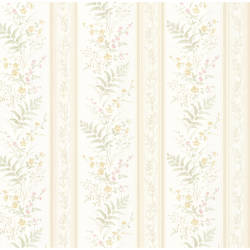 Bell Beige Wildflower Stripe 347-20145