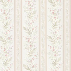 Bell Pink Wildflower Stripe 347-20146