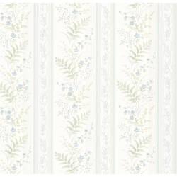 Bell Blue Wildflower Stripe 347-20147