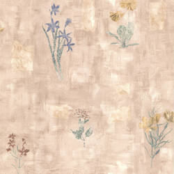 Twain Mauve Terracotta Wildflower 347-42718
