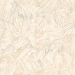 Raven Beige Palm Tree Leaf Texture 347-42860