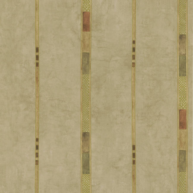 Tenney Beige Checkered Stripe 347-43078