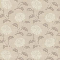 Peery Grey Modern Floral Silhouette 347-55659