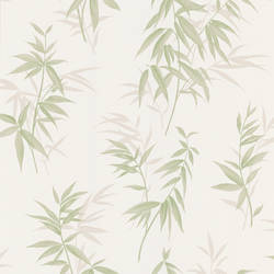 Oates Green Bamboo Leaf Texture 347-63804