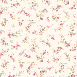 Turtledove Pink Small Rose Toss 347-68815