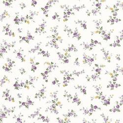 Turtledove Purple Small Rose Toss 347-68816
