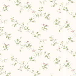 Vance Pink Winding Floral Trail 347-68824