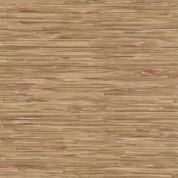 Faraji Light Brown Faux Grasscloth 414-44139