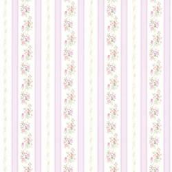 Princess Lavender Floral Stripe 414-56030