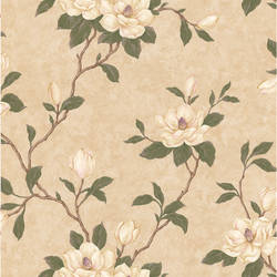 Lilith Beige Floral Branch 414-57804