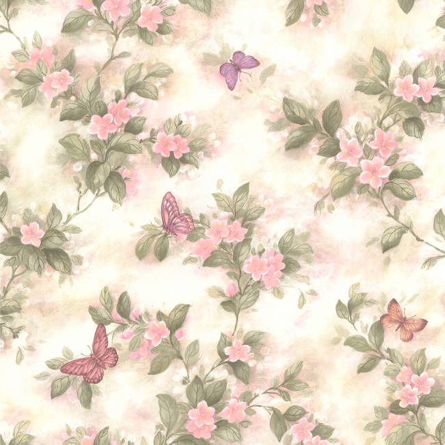 Mariposa Pink Blossom/Butterfly 414-65763