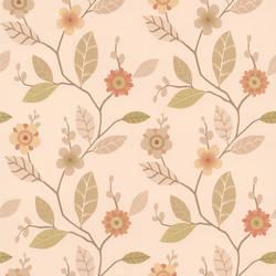 Claudia Apricot Retro Blossom 414-65771