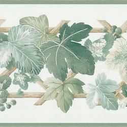 Trauben Green Leaves Border 414B06931