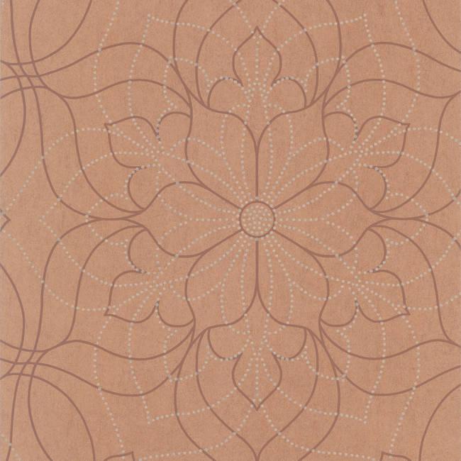 Charlotte Copper Modern Floral 301-66911