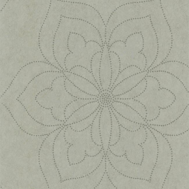 Charlotte Silver Modern Floral 301-66917