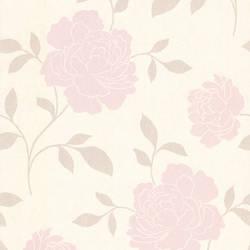 Clara Blush Floral Silhouette 301-66919