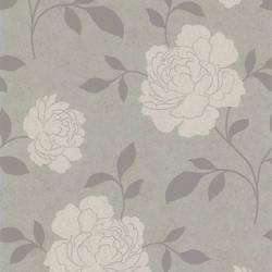 Clara Silver Floral Silhouette 301-66920