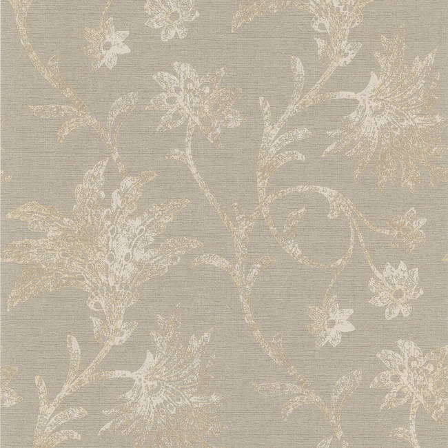 Jasmine Grey Floral Trail 301-66935