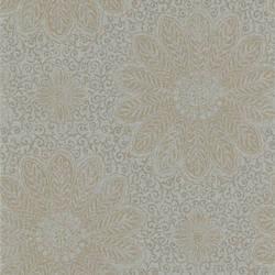 Tribe Grey Modern Floral Scroll 301-66949