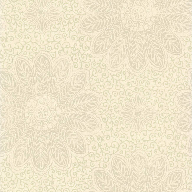 Tribe Sage Modern Floral Scroll 301-66951