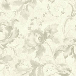 Annali Taupe Scrolling Leaves NL11108