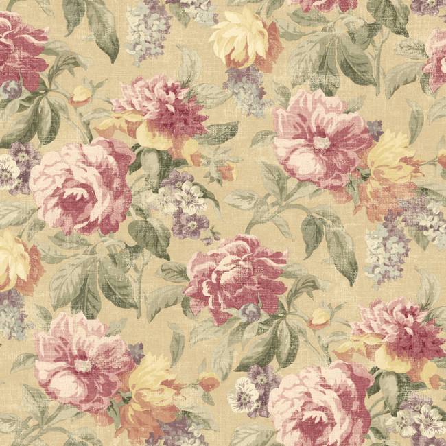 Roseli Mauve Botanical Floral NL12001