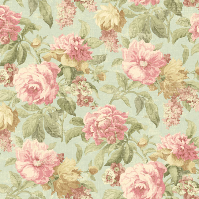 Roseli Pink Botanical Floral NL12002