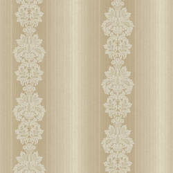 Gautier Stripe Taupe Grand Damask Stripe NL12107