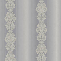 Gautier Stripe Grey Grand Damask Stripe NL12109