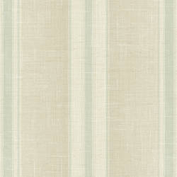 Betha Light Green Linen Stripe NL12504