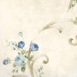 Escot Blue Tearose Acanthus MEA77762