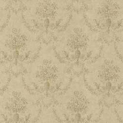 Bellini Taupe Floral Damask 987-56503
